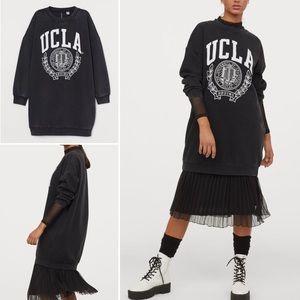UCLA Bruins Sweatshirt Tunic Dress